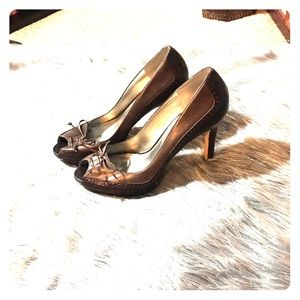 Marc Fisher brown shoes